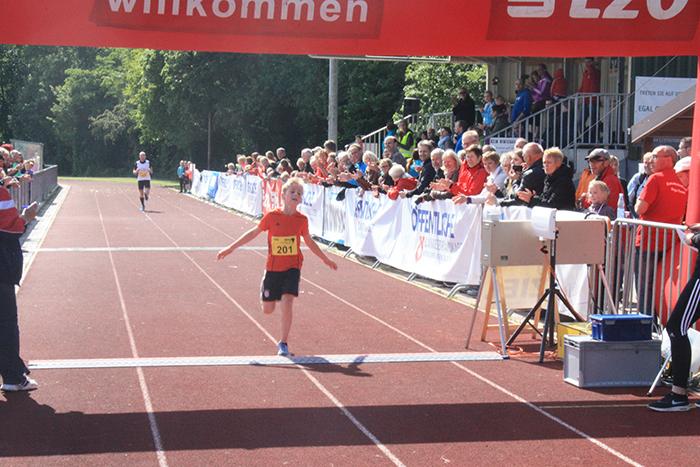 5km Zielankunft Marek Horand Platz 3