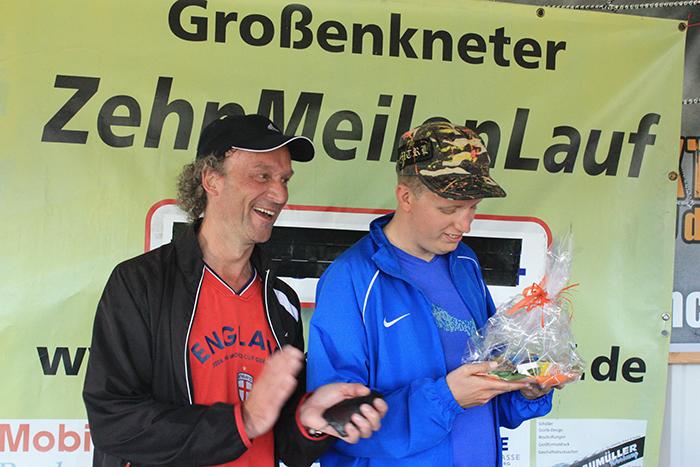 Ehrung Michael Fleischer 5km-Lauf